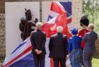 Prince Charles Unveils Waterloo Memorial in Belgium