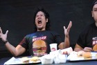 Watch: Man Sets Guinness World Record By Eating Most Number Of Hamburgers In 1 Minute