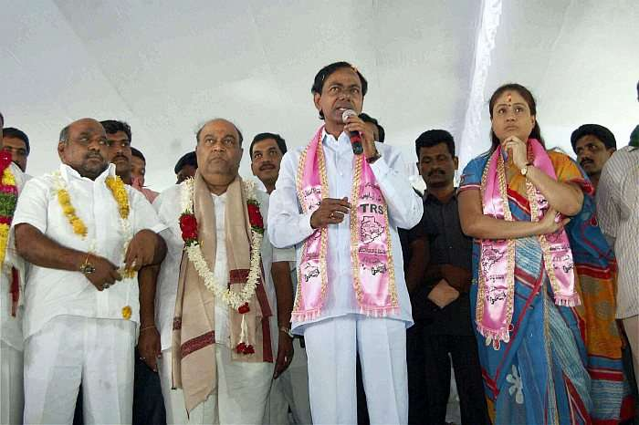 Want to Be Hitler to Stop Injustice: KCR