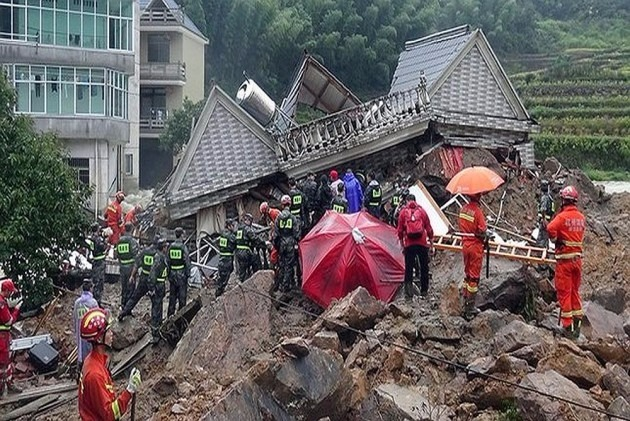 17 Dead, 18 Missing In China Landslide