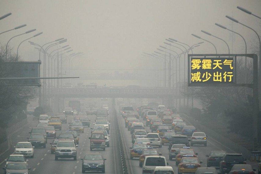 Beijing Filed Over 13,000 Pollution Cases in 2016