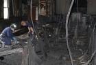 African-American Church Defaced by Trump Graffiti, Burnt