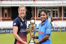 ICC Women's World Cup Final: England Win Toss, Opt To Bat Against India