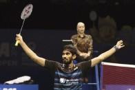 BAI Announces Rs. 5 Lakh Reward For Srikanth Post Australia Open Win