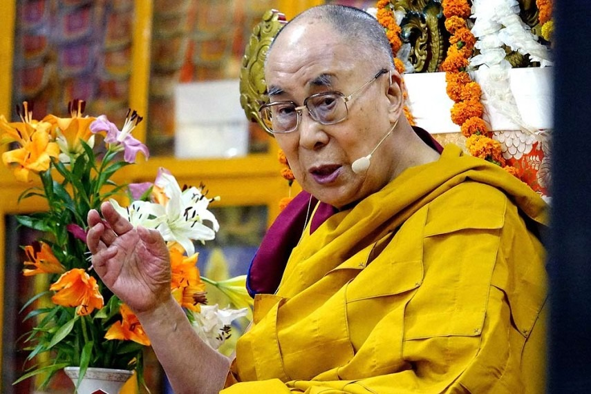 Dalai Lama Invokes Hindi Chini Bhai Bhai Slogan, Says Doklam Standoff Not Very Serious