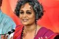 Protesters Send Mahatma Gandhi's Biography to Arundhati