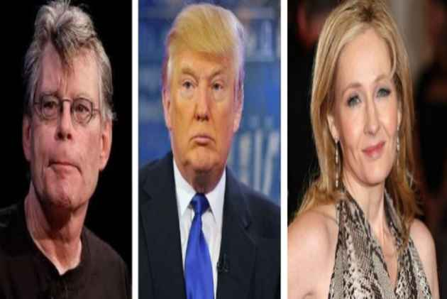 Trump Blocks Stephen King On Twitter, J.K.Rowling Comes To The Rescue