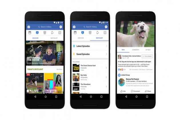 'Watch' Out! Facebook Takes On Netflix, YouTube With Redesigned Video Programming