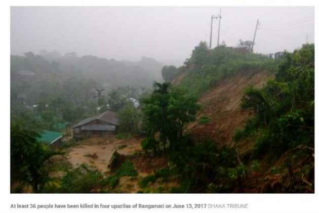 130 dead following incessant downpour, landslides overnight in Bangladesh