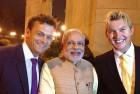 Gilchrist, Lee Join Australian Delegation for Dinner With Modi