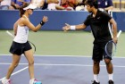 Paes and Sania Enter French Open Semis With Partners