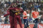 West Indies Beat England by 4 Wickets, Win World T20