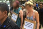 Australian Tourists, Accused of Stealing a Bicycle, Paraded in 'Walk of Shame' in Indonesia