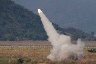 Iran Launches 'Advanced' Rockets During Military Exercises