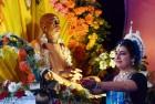 Devotees From 106 Countries Practice Yoga to Mark ISKCON Golden Jubilee