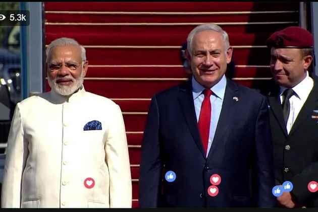 'Apka Swagat Hai Mere Dost,' Israeli PM Welcomes Modi