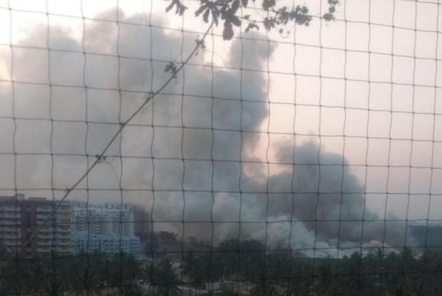 Smoke On The Water Encore. Bellandur Lake Is On Fire Again