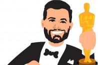 Jimmy Kimmel Live Tweets Donald Trump at Oscars, Asks 'Hey...U Up?'