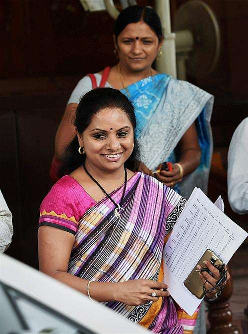 KCR's Daughter Booked for Sedition Over Remarks on T'gana, J&K