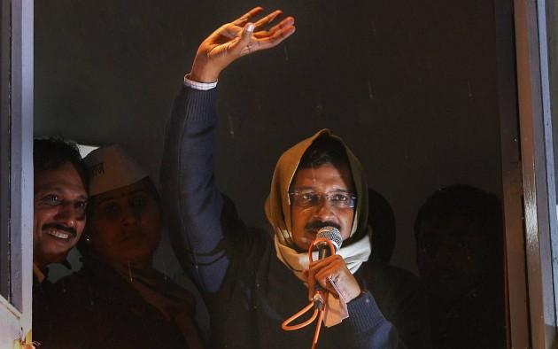'AAP Ka CM'  Kejriwal Quits, Blames Cong-BJP-Ambani
