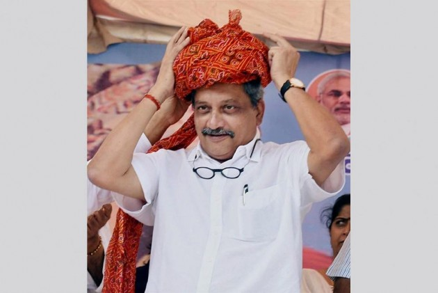 Manohar Parrikar Takes Oath As Goa CM, Trust-Vote On Thursday, Says Supreme Court