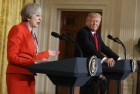 Trump Meets May, Hails Brexit, Says 'It Would Give the UK Its Own Identity'