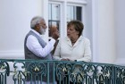 'Had A Good Interaction,' Says PM Modi After Meeting German Chancellor Merkel