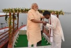 Modi Reaches Out to Nishad Community in UP With E-Boats