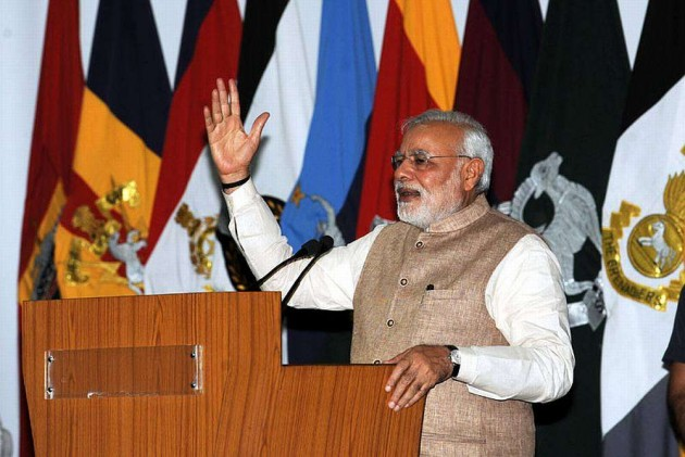 Modi Slams Pakistan for Proxy War Against India, Visits Kargil