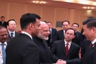 Amid Sikkim Standoff, Modi Meets Xi, Promises Full Cooperation With China