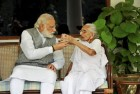 PM Modi Skips Yoga Session To Have Breakfast With Mother