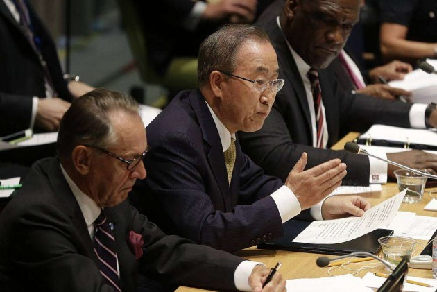 UN Chief Asks India, Pak to Sort Out Matters Through Talks