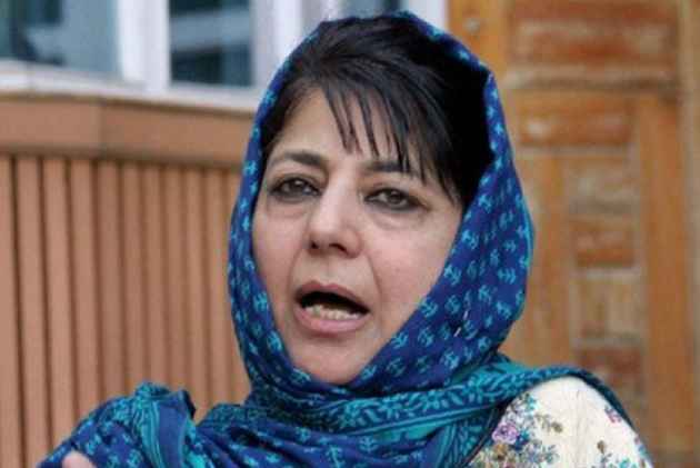 China meddling in Jammu and Kashmir's internal affairs: CM Mehbooba Mufti