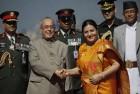 Pranab Mukherjee Holds Talks With Nepal Prez to Strengthen Ties