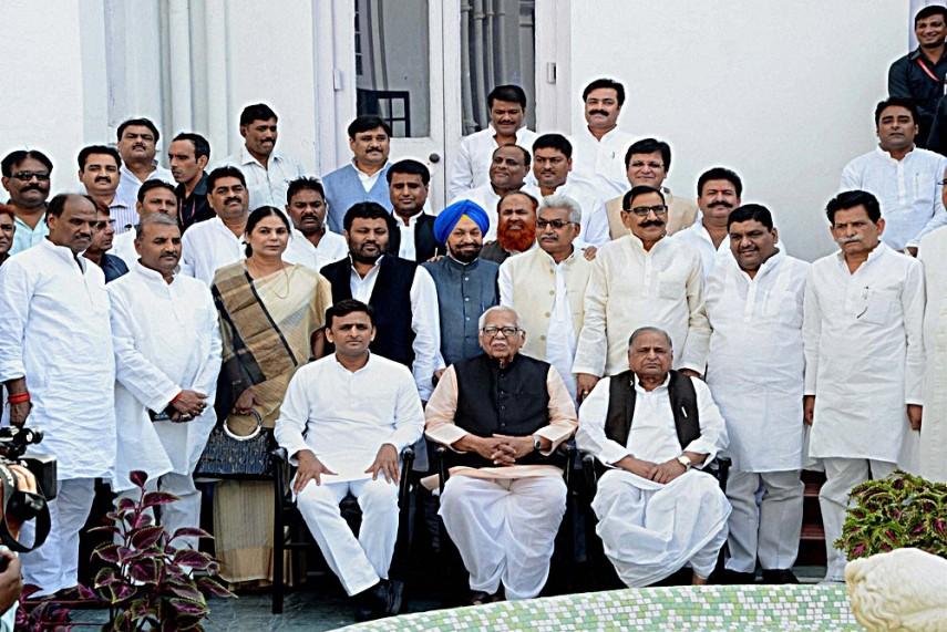Key Meeting Of Faction-Ridden Samajwadi Party Ahead Of UP ...