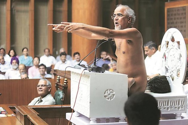 BJP condemns comments against Jain monk
