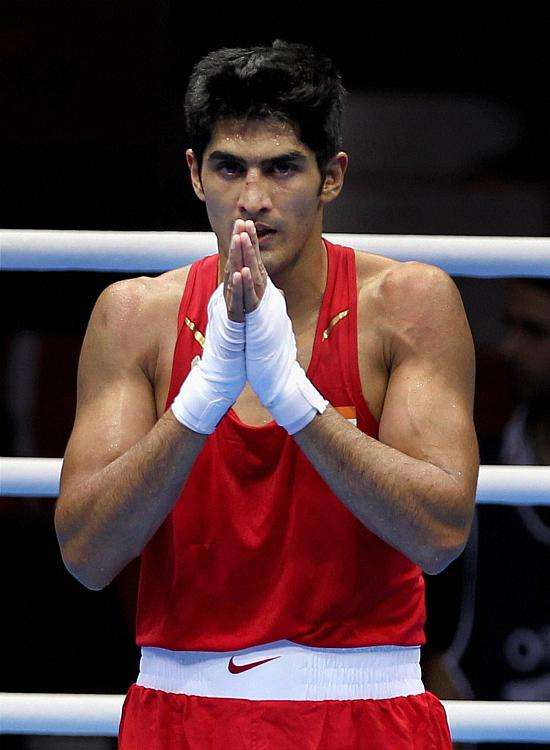 Now Vijender Singh Asks to Be Considered for the Padma Shri