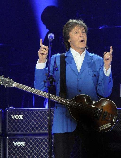 Paul McCartney Auctions Guitar to Help Save African Elephants