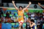 Sakshi Malik Enters the Finals of Asian Wrestling Championship