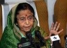 Pratibha Patil Returns All Official Gifts to Rashtrapati Bhavan