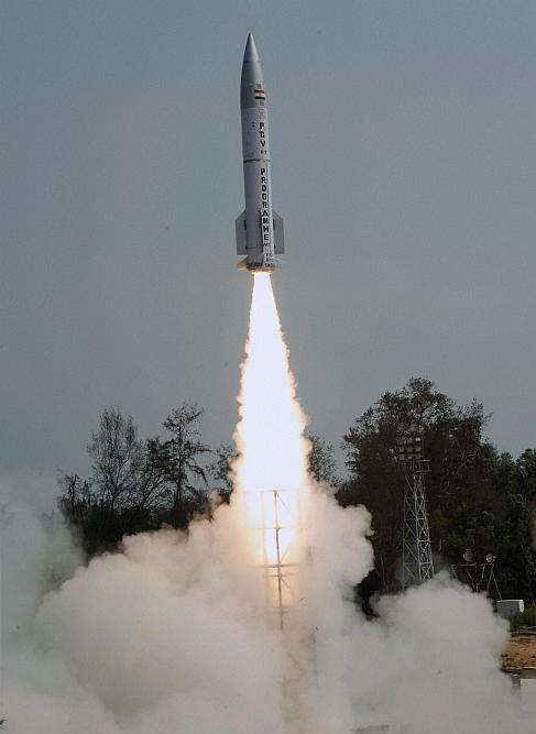 India Successfully Test-Fires New Interceptor Missile