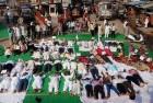 Congress Leaders Perform <em>'Shavasan'</em> To Highlight Farmers' Plight
