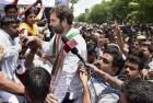 Rahul Begins 10-Km Padyatra in Chhattisgarh's Janjgir Champa