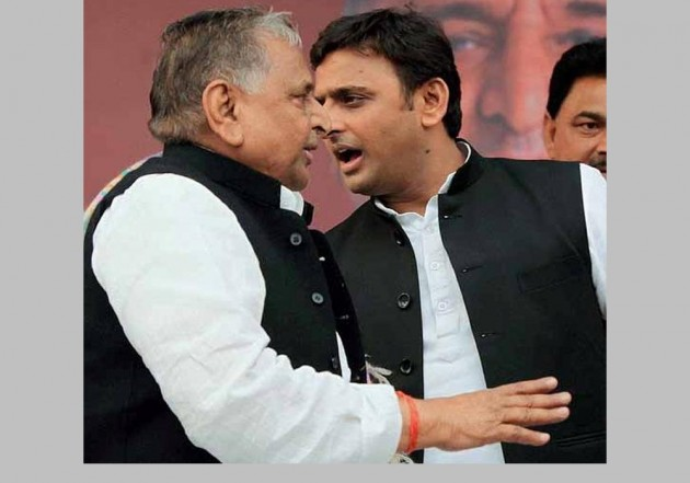 Truce Sighted In Yadav Family Feud