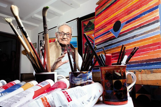 Eminent Painter S.H. Raza Dies at 94