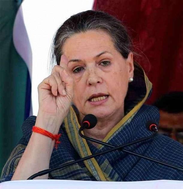 After Rahul, Sonia Attacks Modi Govt Over Communal Violence