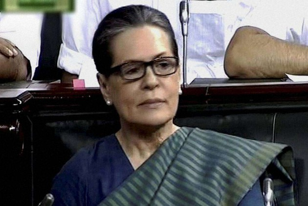 Those Showing 'False Dreams' Marched Ahead: Sonia Slams Govt