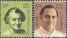 Govt Discontinues Stamps of Rajiv, Indira Gandhi