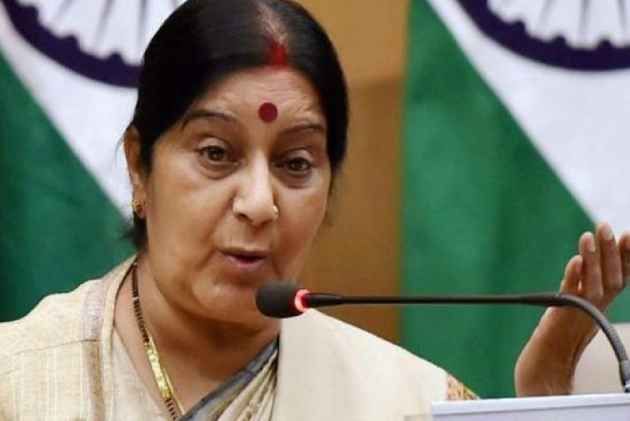 Swaraj attacked Meira Kumar by posting a video