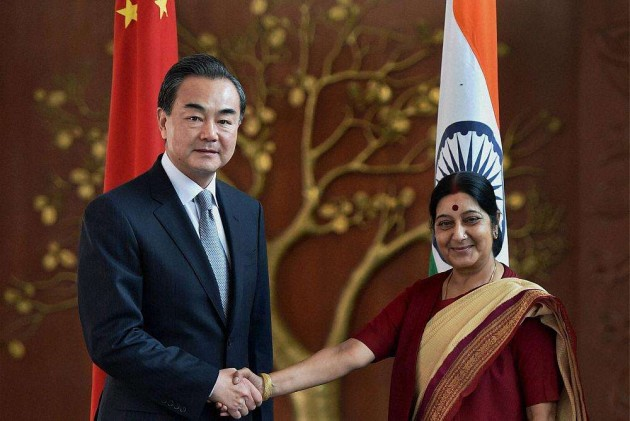 Chinese Foreign Minister Holds Talks With Sushma Swaraj
